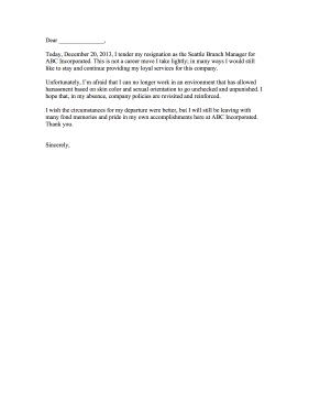 Resignation_Letter_with_Complaint Official Resignation And Complaint Letter Template on simple sample, sample teacher, two weeks notice, personal reasons, for kappa,