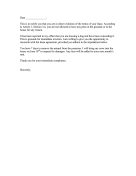 Complaint Letter to Tenant
