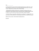 Craft Seller Complaint Letter