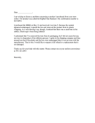 Damaged Goods Complaint Letter